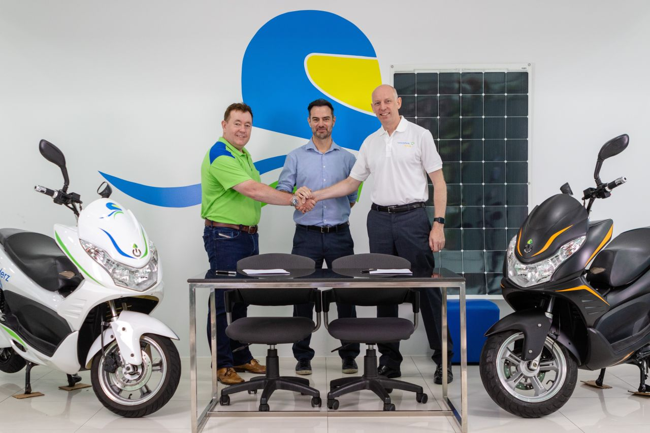 evRiderz and Verditek PLC – Partnership for Solar Charging Stations