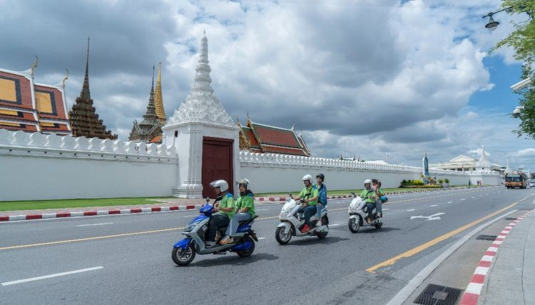 evRiderz launches ride-hailing services for WIN riders in Bangkok
